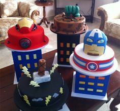 These Suck Hard: Avengers B-Day Cakes - Home - Comic Bastards