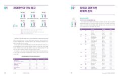 관광두레_실적보고서_내지_8 Book Design Layout, Print Layout, Editorial Design, Data Table, Picture Albums, Grid System, Ui Ux Design, Presentation, Typography