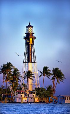 Hillsboro, Florida Lighthouse. I want to go see this place one day. Please check out my website thanks. www.photopix.co.nz