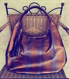 Cobra snakeskin bag idr 1.200.000