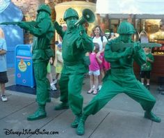 Toy Story Army Men at Hollywood Studios