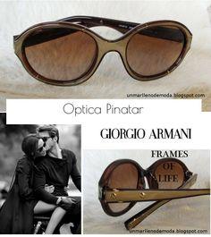 Optica Pinatar, Giorgio Armani, San Pedro del Pinatar, unmarllenodemoda