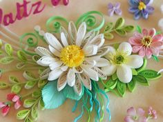 小紙クラフト - Kogami Craft Paper Quilling Designs, Quilling Paper Craft, Quilling Flowers, Quilling Cards, Paper Crafts, Quilling Ideas, Collections Etc, Quilling Techniques, Flower Petals