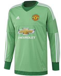 9d072d4c2 Manchester United Goalkeeper Jersey 15 16 Manchester United Home Kit