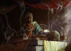 Men of Color In Fantasy Art — Incense Healer by Renato Prezioso Art Programs, Character Modeling, Fantasy Inspiration, Fantasy Artwork, Healer, Fantasy Characters, Art Google, Dungeons And Dragons, Incense