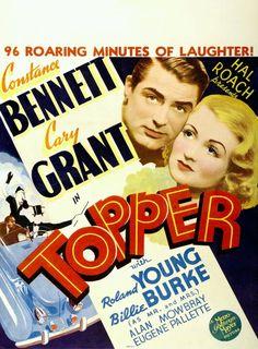 'Topper'~ Cary Grant & Constance Bennett, 1937...