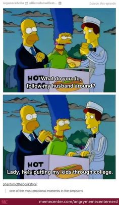 Good guy Homer.