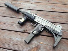 "whiskey-gunpowder: "" 2 Stamp UZI and how you can build your own by gobuyastick "" Weapons Guns, Guns And Ammo, Submachine Gun, Custom Guns, Military Guns, Stuff And Thangs, Cool Guns, Shotgun, Firearms"