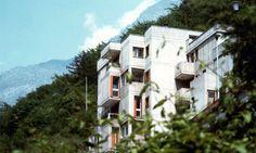 Valeriano Pastor: Terraced housing and four-story block, Longarone, Italy, 1964–1968