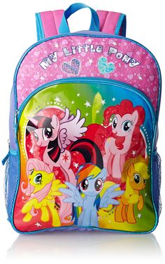 Kaylee - FAB Starpoint Little Girls' My Little Pony 16 Inch Backpack, Multi, One Size