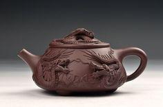 Chinese Yixing Zisha Handmade 5 Dragons Shipiao Teapot, 400cc.  $199.00