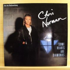 CHRIS NORMAN  Some Hearts are Diamonds - NEAR MINT Vinyl LP Midnight Lady SMOKIE