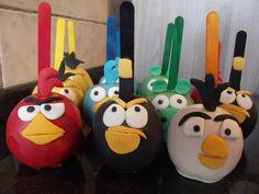 Maçã Angry Birds