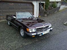 Mercedes-Benz SL 450 SL 1979, 96 937 km, kr 40 000,-