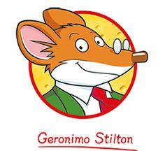 Geronimo stilton. Una serie de llibres molt interessant. Tracta d'un dectiu una mica miedos que resol casos a La illa dels ratolins.