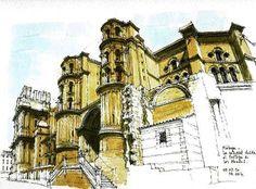 Luis Ruiz, the urban sketcher