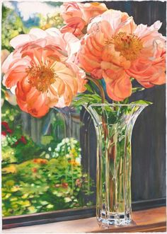 Other Flowers - Cara Brown - Life in Full Color Watercolor Projects, Watercolor And Ink, Watercolor Flowers, Watercolor Paintings, Watercolors, Floral Paintings, Watercolor Animals, Colour Pencil Shading, Different Kinds Of Art