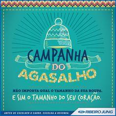 CAMPANHA DO AGASALHO - RIBEIRO JUNG on Behance