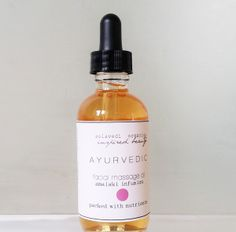 Ayurvedic Facial Massage Oil for anti-aging http://www.solavedi.com/facial-skincare/ayurvedic-oil