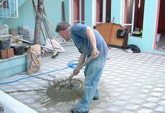 Preparando el mortero
