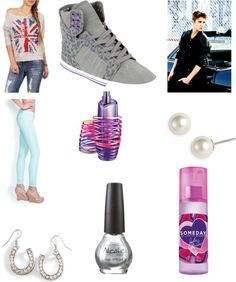 """Hanging Out With Justin Bieber"" by jblover45 ❤ liked on Polyvore"