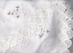 ROSE QUARTZ & SERENITY OR LAVENDER PETIT FLEUR #LACE #TEA CLOTH http://bit.ly/1XJavV4  #linens #dining #weddings