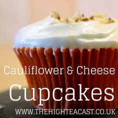 Vegetables cupcakes are now are thing, but have you ever considered a cauliflower and cheese cupcake?