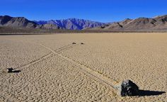 Racetrack Playa in Death Valley California