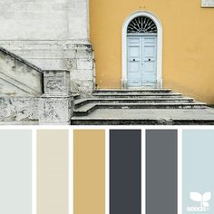 Explore Design Seeds color palettes by collection. Design Seeds, Wall Colors, House Colors, Paint Colors, Colours, Colour Pallette, Colour Schemes, Interior Color Schemes, Color Swatches