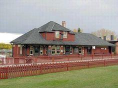 Shepard Station at Heritage Park Historical Village, Calgary, AB