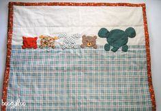 Never Go to Sleep Alone Baby Quilt