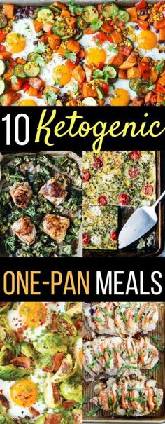 10 Ketogenic Sheet-Pan Recipes For Busy Weeknights dinners recipes ideas low car