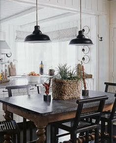 zinc topped table {@Amy Howard: Rescue, Restore, and Redecorate product line, we have a product that allows one to Antique Zinc}