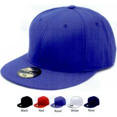 Flat billed wool blend plastic snap cap...Blank. Constructed premium fitted cap of choice flat bill technology. Two tone matching button and snap closure. Made of 80% acrylic / 20 % wool. Hybrid fitted caps made to perfection. Our patented flag ship fitted cap series has a new look and is hotter than ever!