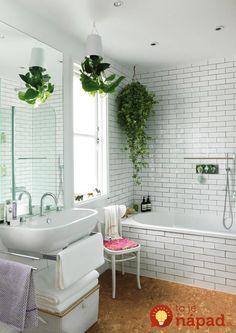 Tieto izbovky sú pre kúpeľňu ako stvorené!