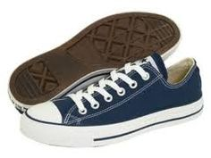 navy blue chucks