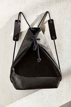 chrisvanveghel Leather Mini Backpack - Urban Outfitters