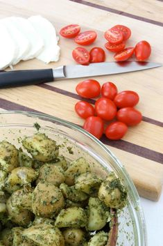 Tomato & Mozzarella Potato Salad With Lemon-Buttermilk Dressing Recipe ...