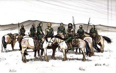Les Pol Joni (2002) Publié dans les Erudits de L'Ambigu #3 - Photo de 02-Mes dessins publiés (c) Eric Vanel - La Terre et le Feu