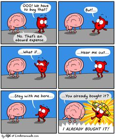 Heart & Brain - Awkward Yeti
