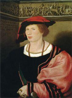 Portrait of Benedikt von Hertenstein, 1517  Hans Holbein the Younger