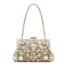 Dolce & Gabbana - Embellished shoulder bag - mytheresa.com