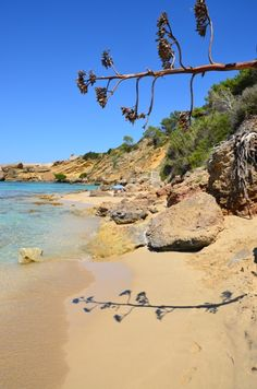The magical island of Kefalonia:  Makris Gialos Beach