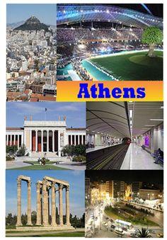Athens Greece Souvenir Novelty Fridge Magnet Sights Gift Ebay
