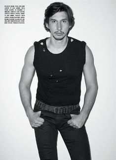 The Unconventional Adam Driver On the cover of the January 2016 issue of L'Uomo Vogue, shot by Terry Richardson, here is Adam Driver: among the most interesting actors of his generation