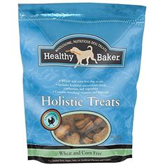 Healthy Baker Holistic Flavored Treats for Dogs 2lb Bags Bone Shaped Dog Buscuit(Chicken Flavor) -- You can see this great product. (This is an affiliate link and I receive a commission for the sales)