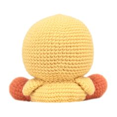 Henry the Duck Amigurumi Pattern by fatfaceandme on Etsy