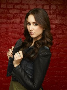 "Troian Bellisario ""Spencer"" on ABC Family's Pretty Little Liars.  Gorgeous and uber talented.  As Oliver Goldstick said, ""She deserves an Emmy!"""