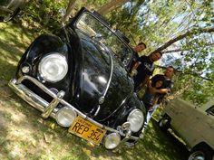 Ronald Hernandez's 1956 black VW Convertible. From Corona, California, U.S.A…