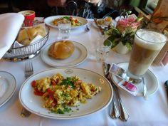 :-) breakfast at Café Landtmann - :-) Good Food, Breakfast, Morning Coffee, Healthy Meals, Eating Well, Morning Breakfast